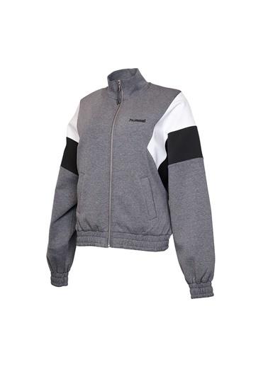 Hummel Kadın Zip Ceket Maze 920612-1081 Siyah